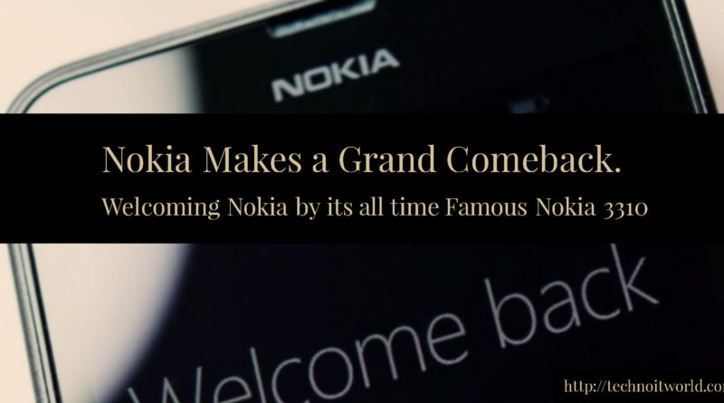 Nokia Welcome