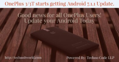 OnePlus 3&3T gets Android Update