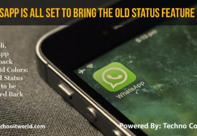 WhatsApp Old Status Update to be Back Soon