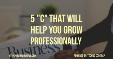 5 C to which can grow your professionally