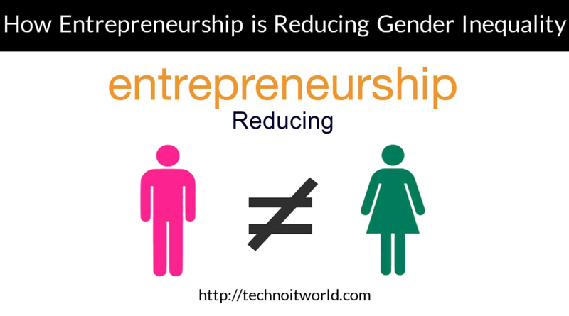 Gender Inequality Entrepreneurship