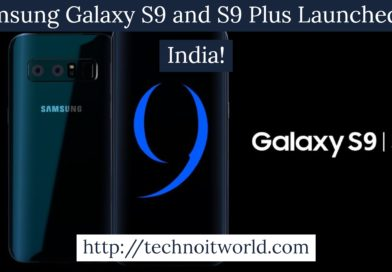 Samsung Galaxy S9 and S9 Plus Launched in India
