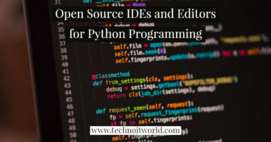 Python IDE and Editors